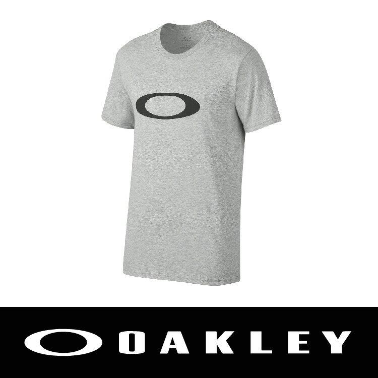 OAKLEY ONE ICON TEE 純棉圓領T恤 灰色 保證公司貨 男 455328-203 萬特戶外運動 上衣&外套