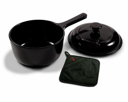 鼎上坩堝陶瓷鍋具~2.4公升單把陶瓷湯鍋(型號:99599)