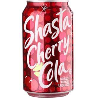 美國進口 SHASTA 櫻桃風味可樂(355mlx24瓶)