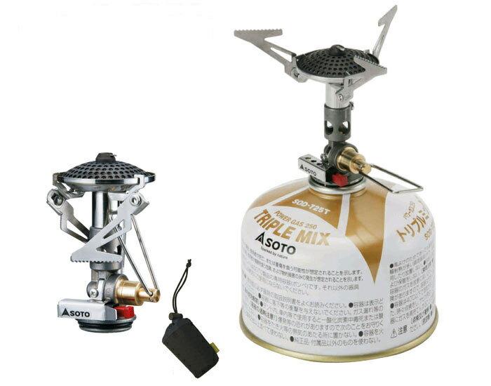 【鄉野情戶外用品店】 SOTO |日本| Micro Regulator 冷天之王 輕量化個人爐/攻頂爐 瓦斯爐 高山爐/SOD-300
