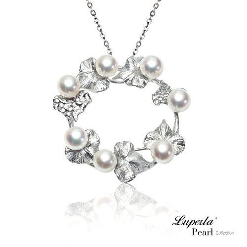 大東山珠寶香榭法頌頂級日本akoya海水珍珠項鍊胸針兩用款