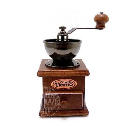 Tiamo手搖磨豆機HG6069(附防塵蓋)/HG6070 可調整粗細 美式法式手沖滴漏虹吸咖啡磨豆器