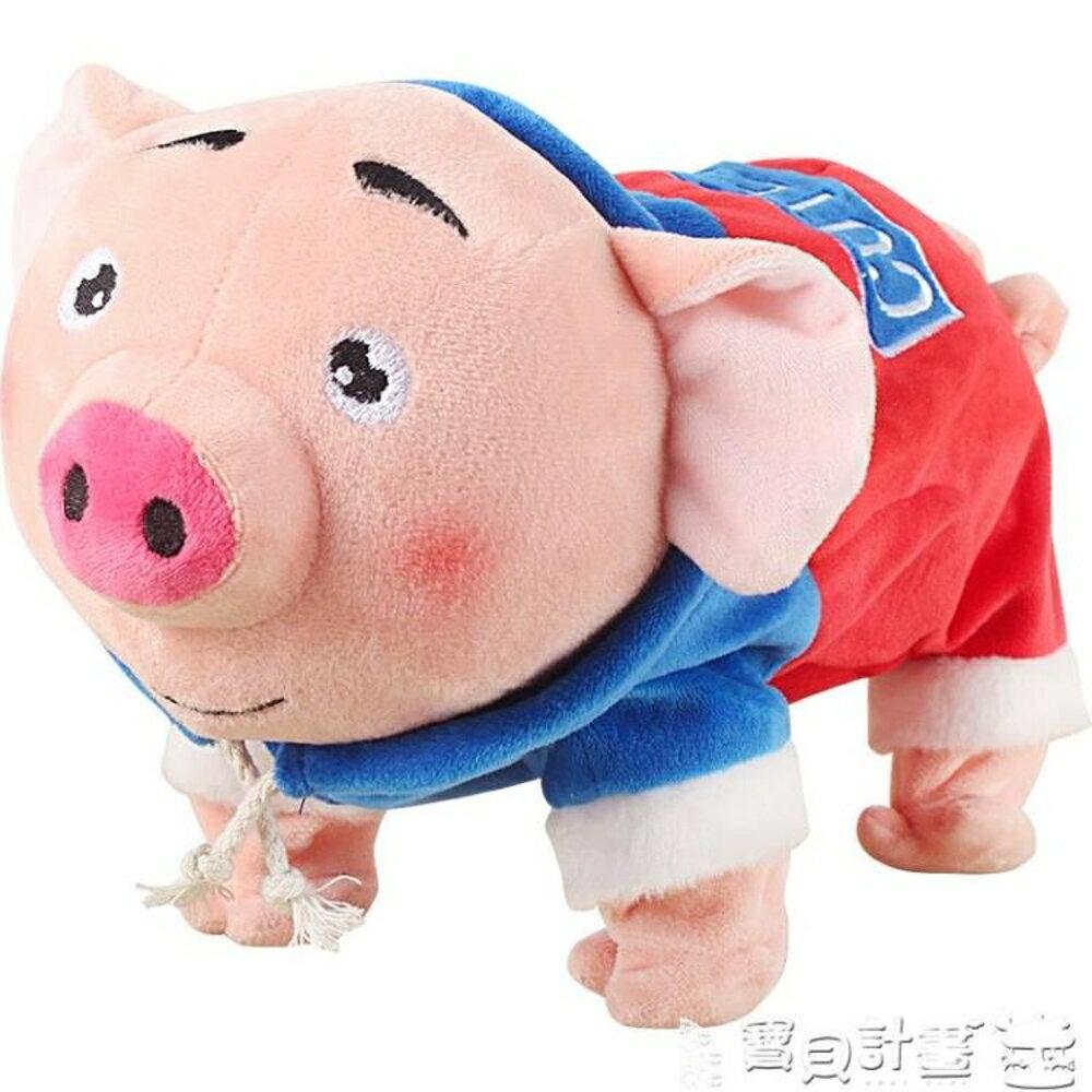 免運 抖音玩具 豬年禮物會說話的海草豬跳舞抖音同款網紅兒童電動男女孩3歲玩具