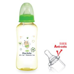 ~蜜妮寶貝嬰童用品館~PES防脹氣葫蘆奶瓶 ^(容量: 300ml  10oz 顏色: 橘