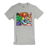 漫威英雄Marvel 周邊商品推薦美國百分百【GAP】T恤 T-SHIRT 短袖 上衣 漫威 英雄 復仇者聯盟 圓領 灰色 純棉 XS S號 男 F210