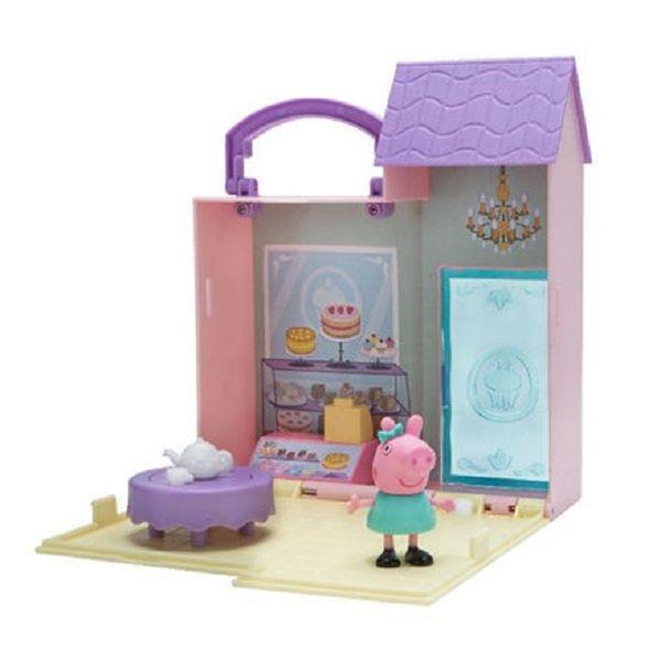 粉紅豬小妹-可愛商店情境組-麵包店款PEPPAPIG-LittlePlacesAsst伯寶行代理公司貨
