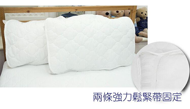 枕頭保潔墊【3層抗污型、可機洗、細緻棉柔】超值特價枕頭保潔墊(單品)*第二代優質回歸! 2