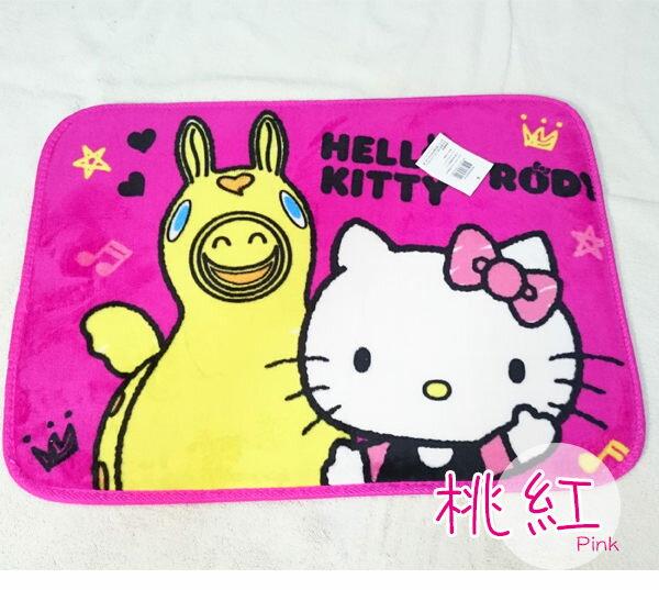 Hello Kitty防滑地墊【可愛/吸濕/防滑】#兩款 1