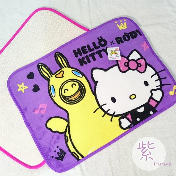 Hello Kitty防滑地墊【可愛/吸濕/防滑】#兩款 2