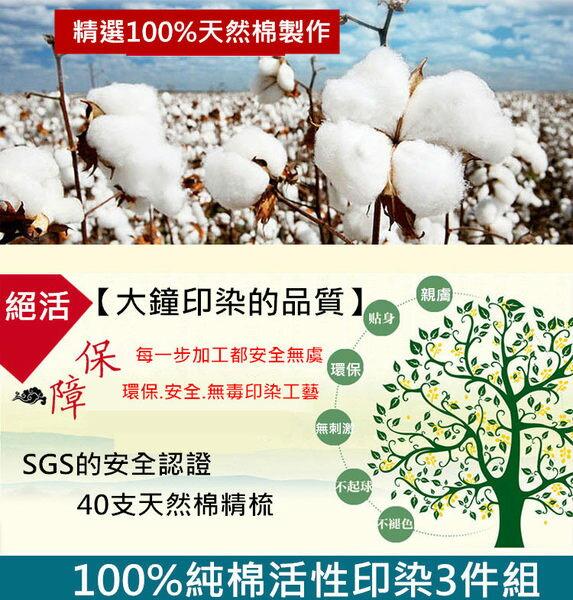 雙人床包組【100%天然棉、40支精梳純棉、吸濕排汗、台灣製】*售完不補!# 寢國寢城 2