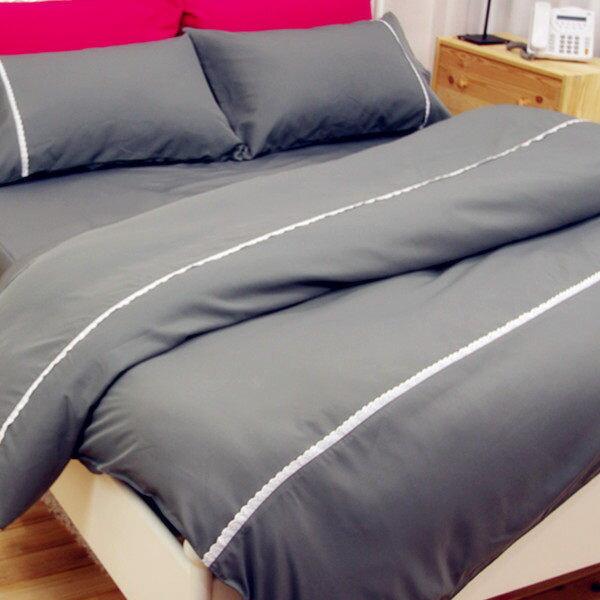 加大雙人床包枕套3件組【防?抗菌、吸濕排汗】馬卡龍防螨床包組 # 6色 4