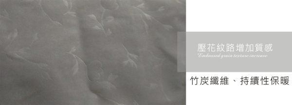 棉被 / 竹炭被 / -雙人壓花竹炭布被胎【保暖、除臭、蓬鬆、健康】6x7尺 85%竹炭暖暖被 # 寢國寢城 2