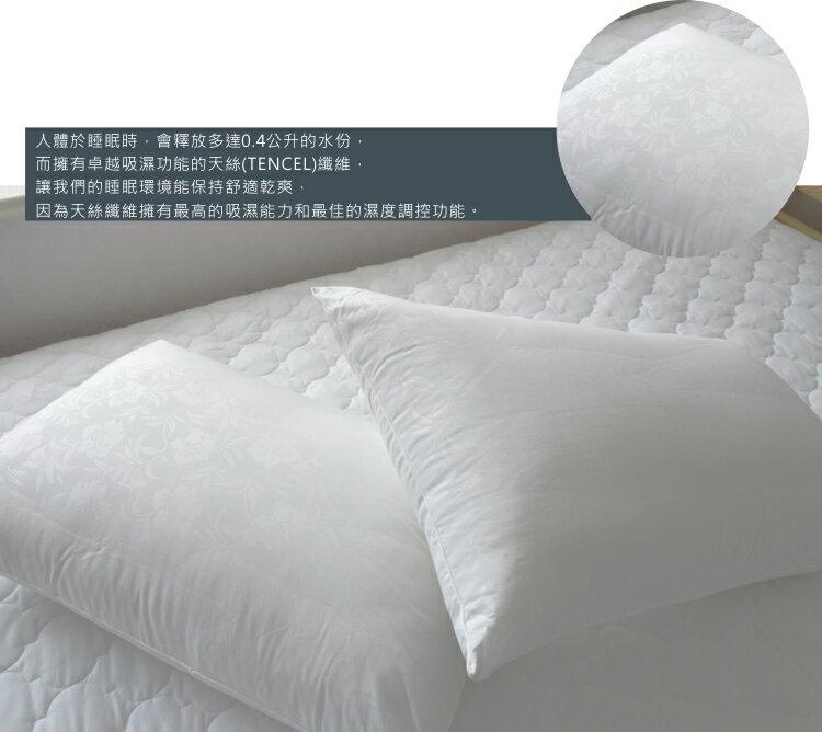 枕頭/天絲健康枕【防?抗菌、吸濕、台灣製】(單品) # 寢國寢城 3