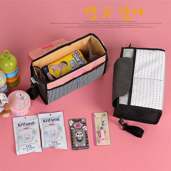 BO雜貨【SV6477】韓版嬰兒推車掛袋嬰兒車收納包媽媽包置物袋大容量收納媽咪包收納包旅行包中包