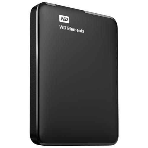 1TB WD Elements USB 3.0 high-capacity portable hard drive for Windows - USB 3.0 - Portable - Retail