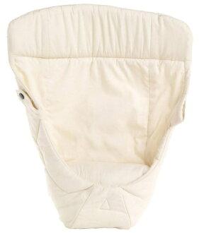 【淘氣寶寶】【總代理公司貨】2016 最新款 美國 Ergo Baby ergobaby 爾哥寶寶背巾心型嬰兒保護毯/愛心保護毯【原創款-無安全帶/自然色】