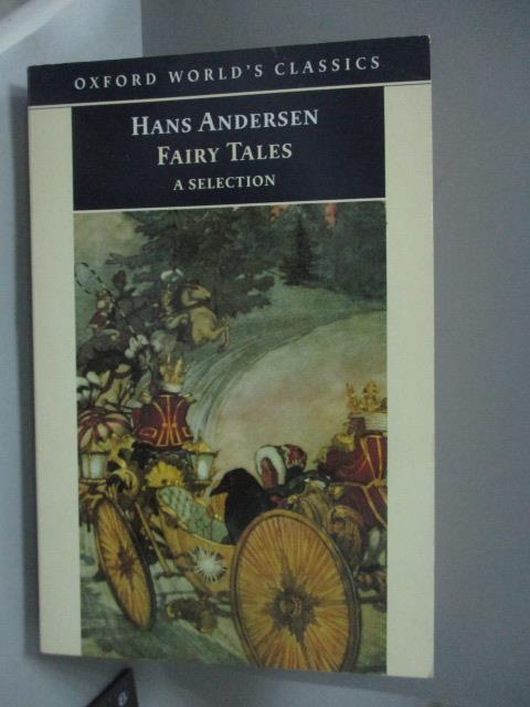 ~書寶 書T1/原文小說_HAP~Hans Andersen #x27 s Fairy T