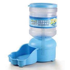 【自動餵食器-塑膠-2L】自動餵食器 寵物餵食器 狗狗 貓餵食器 隨機顏色,直徑13.5cm高27cm-79013