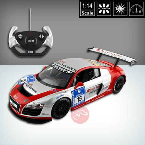 ~瑪琍歐玩具~1:14 Audi R8 LMS Performance彩繪版遙控車 ~