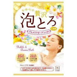 日本製 COW 牛乳石鹼 奢侈泡泡入浴劑 濃密泡泡(黃-雞蛋花香) 30g/包*夏日微風*