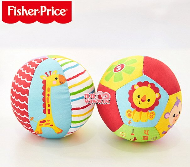 費雪牌(FisherPrice)F0805 費雪動物認知球,色彩鮮艷,吸引寶寶愛不釋手!