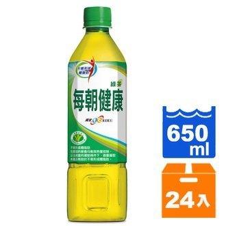 12/12(三)10:00準時開賣★限量70組★每朝健康 綠茶 650ml (24入)/箱