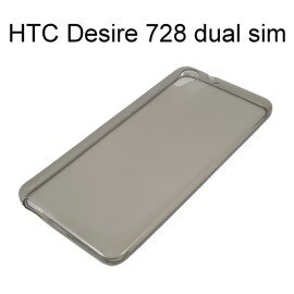 超薄透明軟殼 ^~透灰^~ HTC Desire 728 dual sim ~  好康折扣