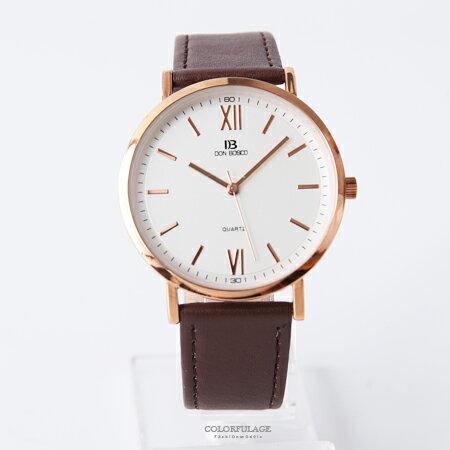手錶 正韓DON BOSCO羅馬數字腕錶 柒彩年代【NEK8】單支