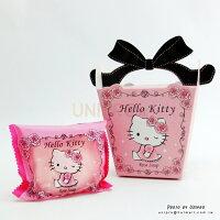 婚禮小物推薦到【UNIPRO】Hello Kitty 晨曦玫瑰麝香香氛造型皂 香皂 肥皂 凱蒂貓 送禮最佳的選擇 台灣製造 婚禮小物