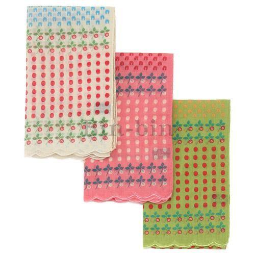 保野溫子 紗布玫瑰圍巾 705~860