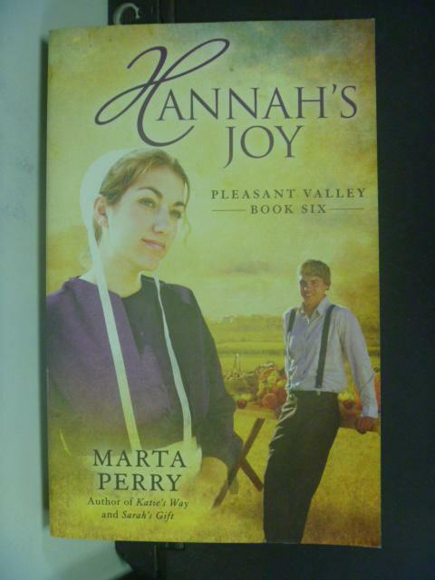 【書寶二手書T7/原文小說_HIV】Hannah's Joy_Perry, Marta
