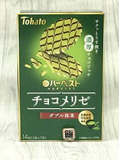 東鳩微笑波浪抹茶巧克力餅乾74.2g盒