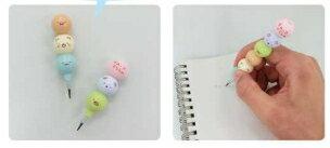 大賀屋 日貨 角落生物 鉛筆 替換筆 文具 筆 考試用 豆豆筆 小學 學生 角落小夥伴 San-x J00018291