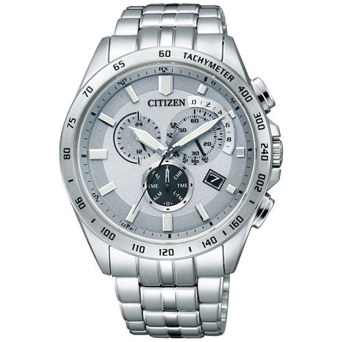 CITIZEN星辰AT3000-59A多功能電波光動能腕錶/白面