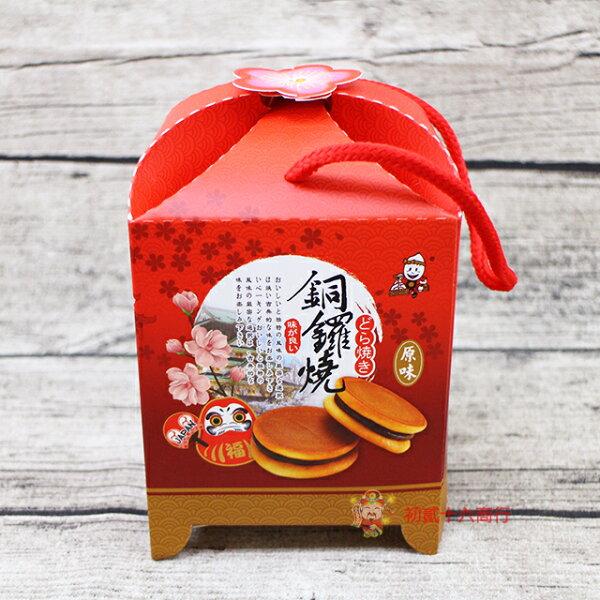 【0216零食會社】顧德_銅鑼燒(紅豆黑糖)220g