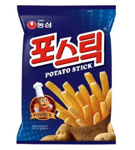 農心 馬鈴薯脆條 84g