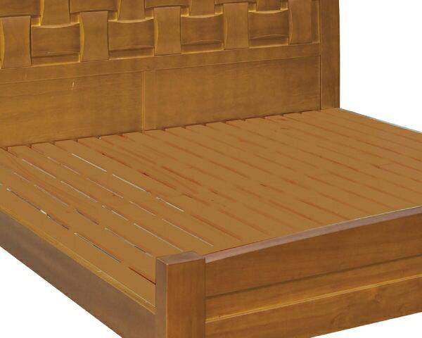 床架【YUDA】編織造型 5尺 雙人 優麗坦 實木 雙人床架/雙人床底/床檯J8F 091-2