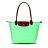 Longchamp   2605 098 556 新款女性包時尚潮流可折疊水餃包中號長柄餃子包 3