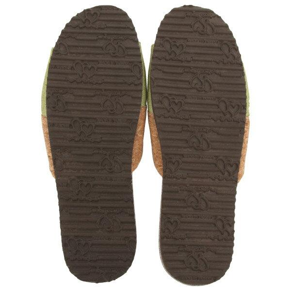 拼接軟木室內拖鞋 86072 綠26 NITORI宜得利家居 2