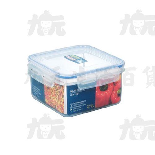 【九元生活百貨】聯府KI-S2700天廚方型保鮮盒KIS2700