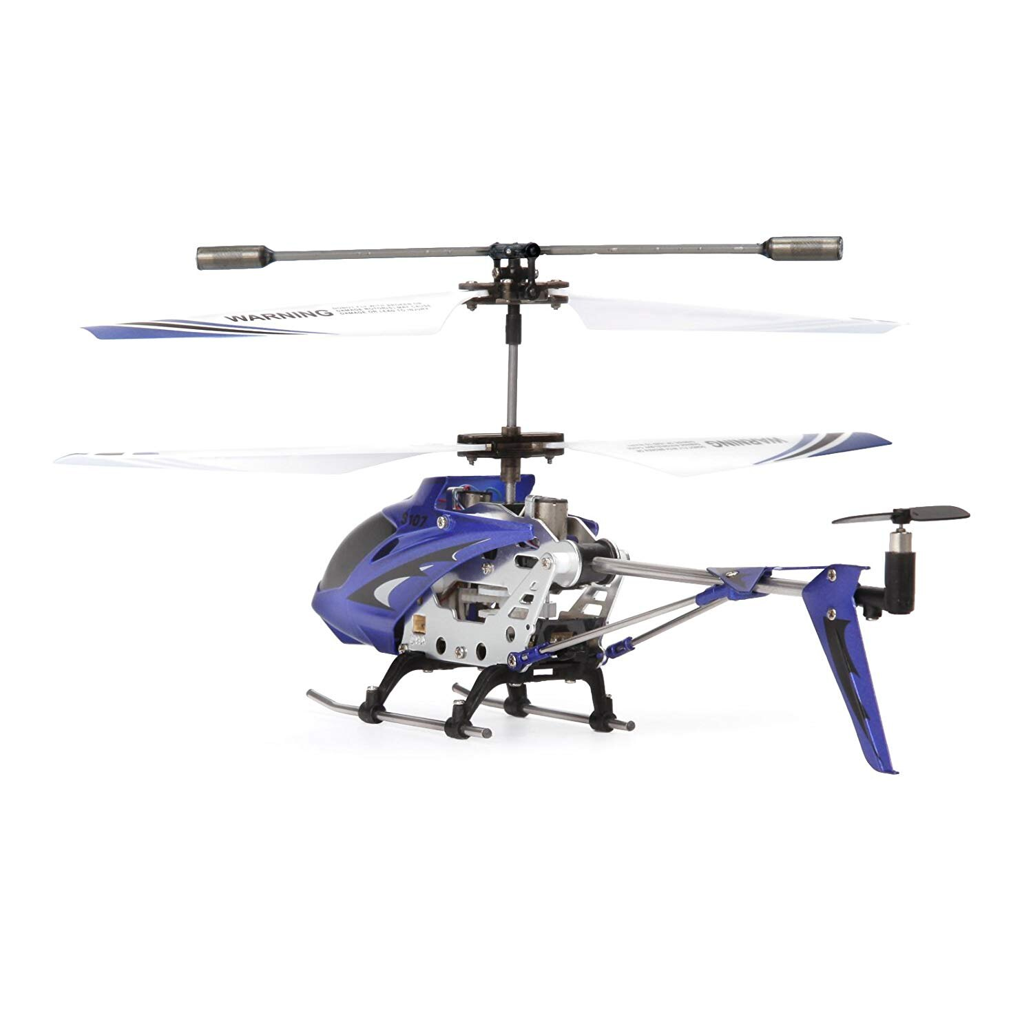 Syma S107G Mini 3.5 Channel Infrared RC Helicopter with Gyro Blue 2