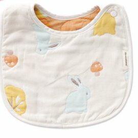 『121婦嬰用品館』奇哥 快樂森林六層紗圍兜(大)