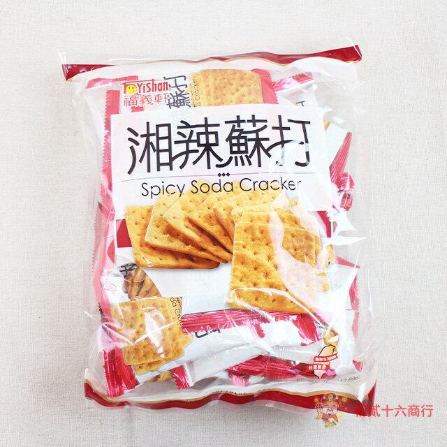 ~0216零食會社~福義軒_湘辣蘇打餅 葷食 360g