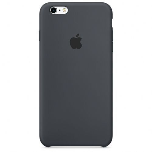 Apple iPhone 6/6S Plus Silicone Case - Charcoal Gray MKXJ2ZM/A