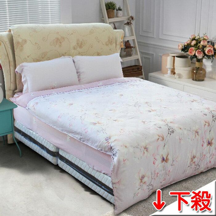 ~名流寢飾家居館~M1.100^%天絲.超柔觸感.加大雙人床包組兩用鋪棉被套全套