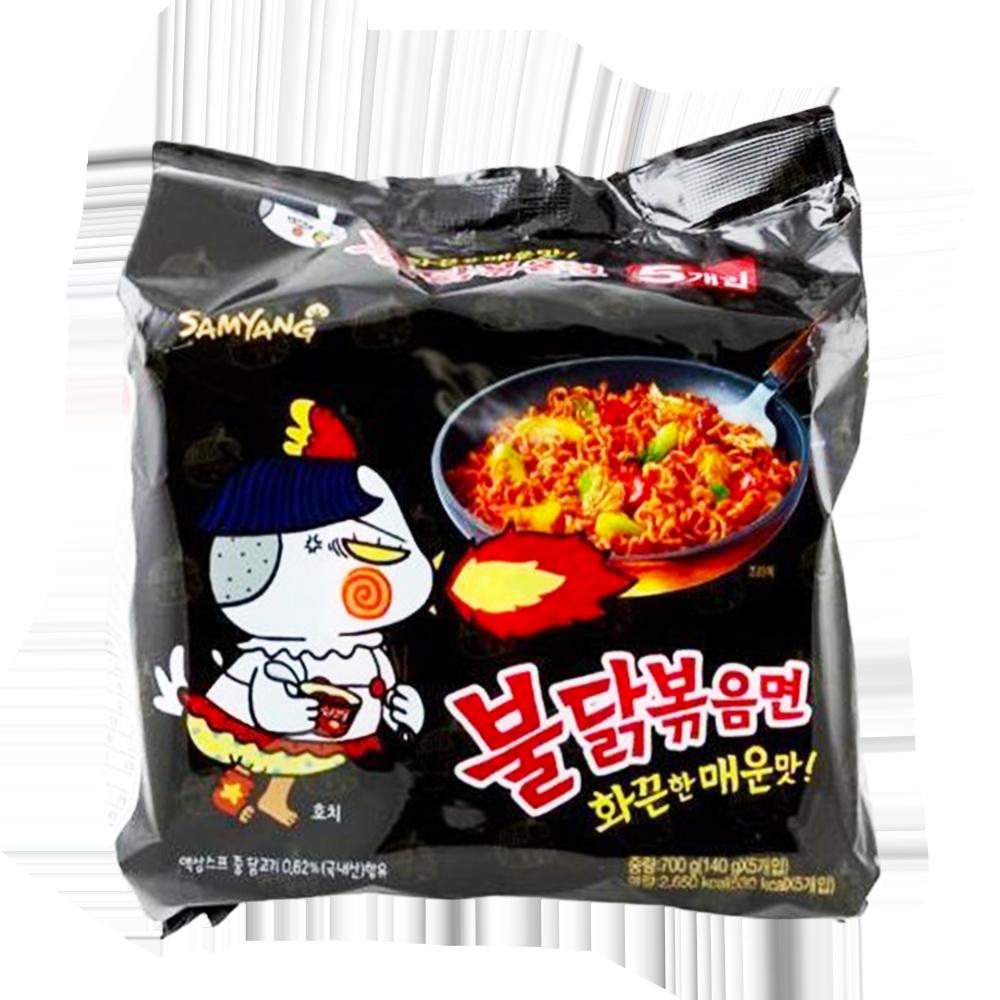 韓國 SAMYANG~辣炒雞肉鐵板麵^(140g^~5包^) ~  好康折扣