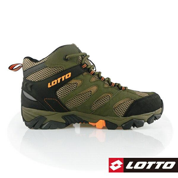 LOTTO樂得-義大利第一品牌 男款Sabre Mid 2 戶外登山鞋 [0555] 綠【巷子屋】