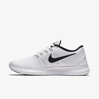 【7折免運】Nike Free Run 5.0 白黑 男女鞋