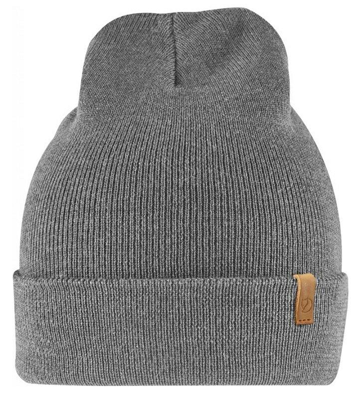 Fjallraven 小狐狸 針織羊毛帽/保暖毛線帽/ Classic Knit Hat 77368 020 灰色