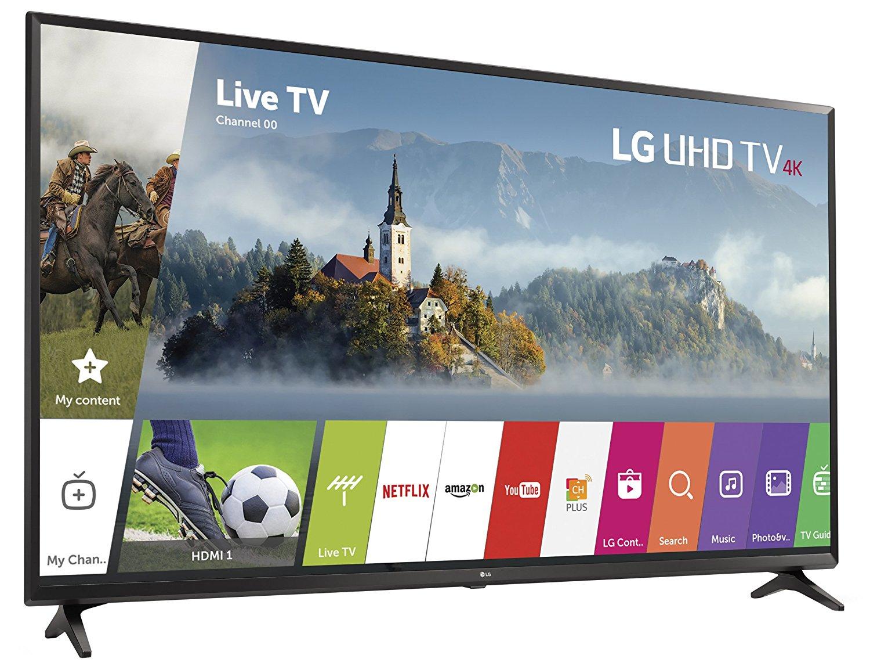 LG Electronics 49UJ6300 49-Inch 4K Ultra HD Smart LED TV (2017 Model) 1